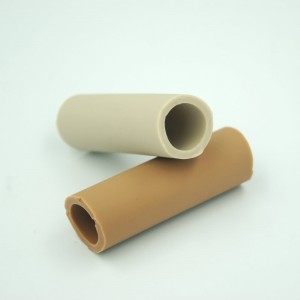 Heat and fuel resistant high pressure Flexible large diameter Silicone rubber tubes for industry