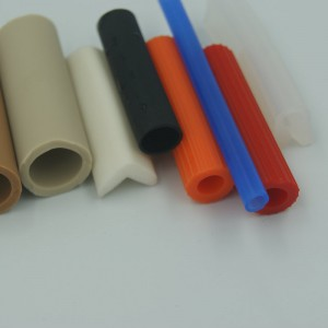 Extruded Colorful Silicone rubber vacuum hose silicone tubes for air-conditioner