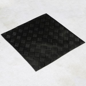 Heavy duty Diamond-shaped rubber passage rubber stable mat for milking parlour