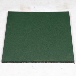 Colorful EPDM rubber floor tile paver rubber mat for hospital