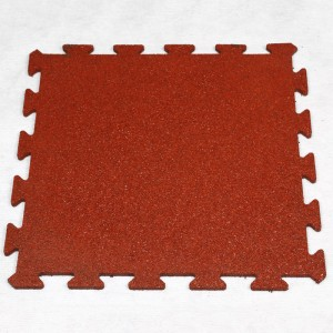 impact dog bone type EPDM rubber Floor tile rubber paver matting for outdoor