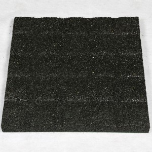 Environmental friendly Rubber Golf mat rubber floor paver for Golf playground