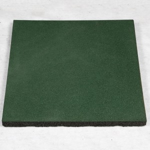 China manufacturer wear resistant SBR rubber sport mat rubber floor tile for Chindren's centre