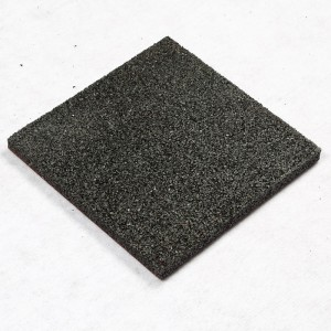 Customed Resilient commercial Rubber floor tile for basketball court